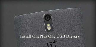 Install OnePlus One USB Drivers on Windows