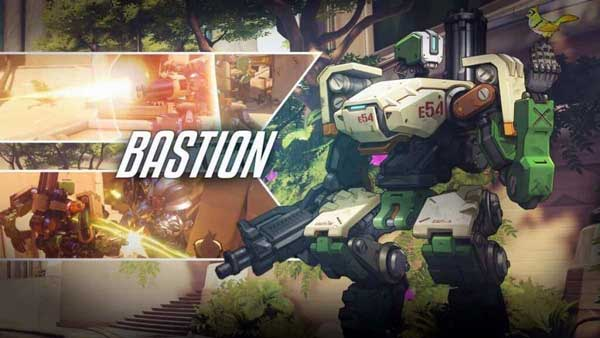 Bastion Overwatch Wallpaper