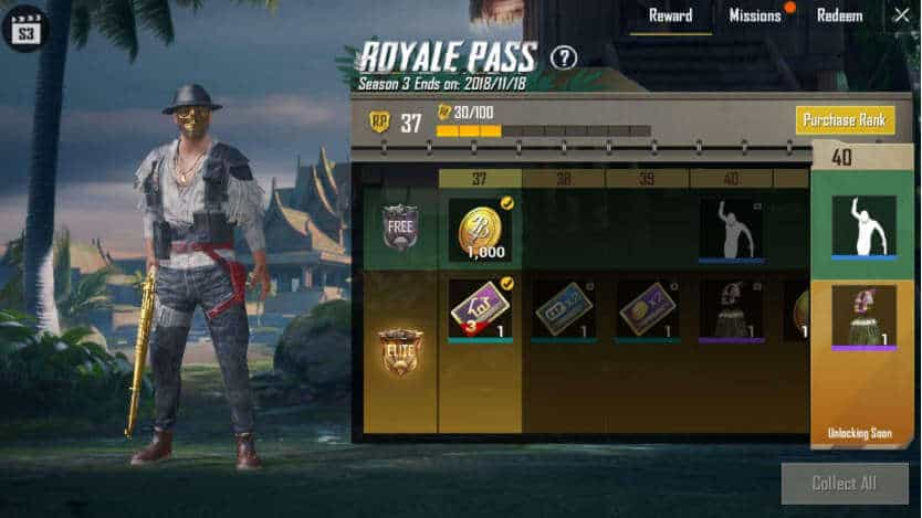 Get Free Elite Royal Pass in PUBG Mobile