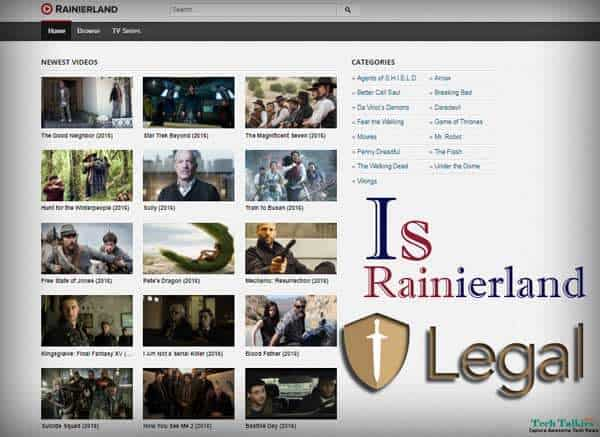 Rainierland Legal, Advantages and Disadvantages Of Watching Movies