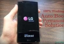 LG G4 Auto BootLoop Problem Permanent Solution