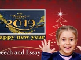 Happy New Year Speech and Essay 2019
