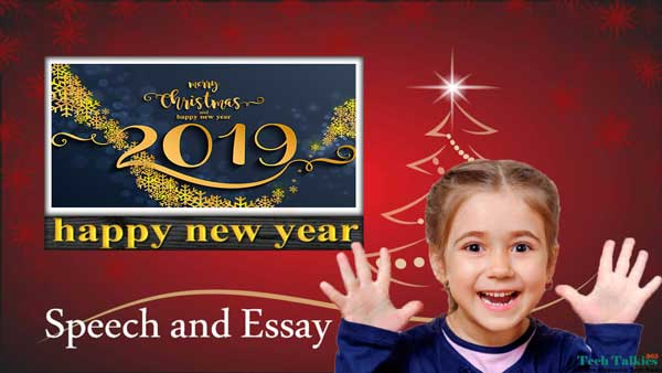 Happy New Year Speech and Essay 2020