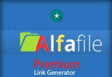 Alfafile Premium Link Generator in 2019