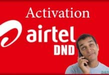 DND Activation Airtel Do Not Disturb Airtel Service