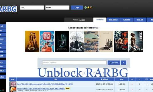 RARBG Torrent Proxy