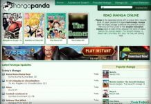 get Online Manga Comics Reader Free at Mangapanda in English