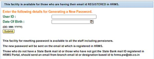 SBI HRMS LOGIN GUIDE