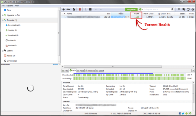 Boost Downloading Speed of Utorrent Portable version