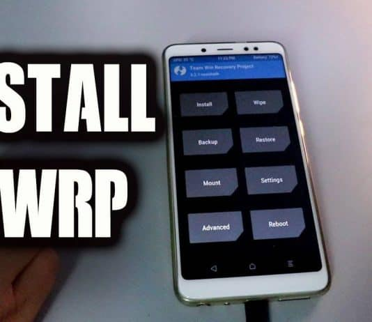 Download Universal TWRP 3.2.1 Recovery Zip on Android