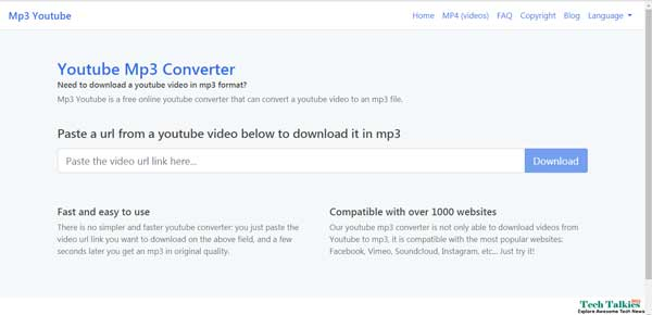 YouTubemp3 Mp3fiber Alternatives To Download Songs