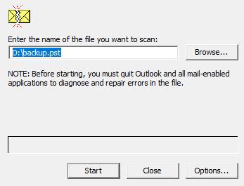 Repair Corrupt PST File Solution