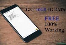 Airtel Free Data Recharge
