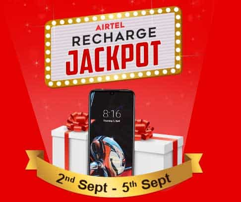 Airtel Free Data Recharge