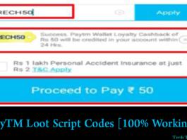 PayTM Loot Script Recharge Codes