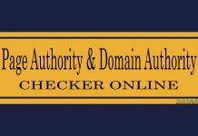 Best Page Authority and Domain Authority Checker Tool Online