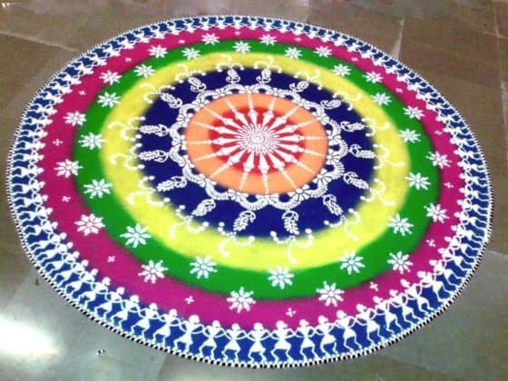 how to get rangoli in gpay,