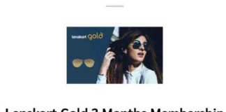 Lenskart Gold Membership FREE For 1 Year TRICK